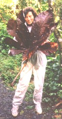 Click the picture of Anne in the jungle to visit the PERMACULTURE NOW website